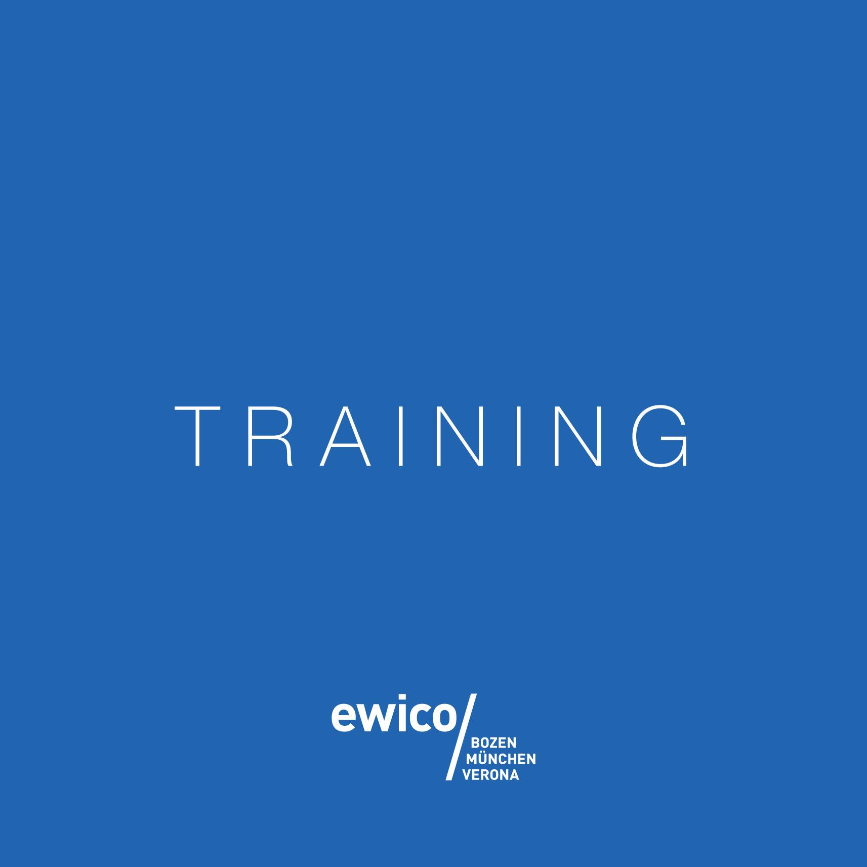 Offene Trainings 2019 Ewico
